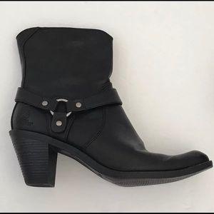 """Durango """"Texas"""" Black Ankle Boot Size 6.5"""